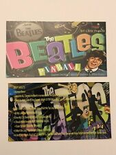 The Beatles Beatlemania Stern Pinball Apron Instruction Cards