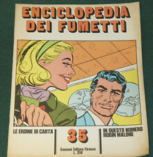 ENCICLOPEDIA DEI FUMETTI #35 ITALIAN COMIC CARTOON MAGAZINE FINE 1970