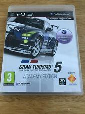 Gran Turismo 5 Academy Edition Sony PlayStation 3 juego Blu-ray Disc región 2 PAL