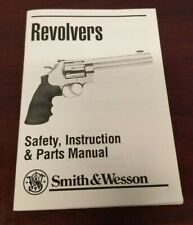 New listing Smith & Wesson Revolvers Safety, Instruction & Parts Manual
