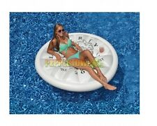 Silver Dollar Island Giant Pool Float Raft Swimline 90545 Beach Water Inflatable