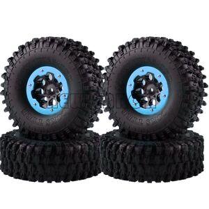 1/10 RC 120mm Beadlock Wheel Super Swamper Tyre Rock Crawler CC01 D90 SCX10