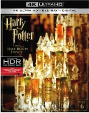 Harry Potter And The Half Blood Prince [New 4K UHD Blu-ray] With Blu-Ray, 4K M