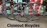 "NEW BICYCLE 20"" x 2.125  STEEL WHEEL 12G HEAVY DUTY SPOKES CRUISER LOWRIDER BMX"