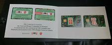 1996 $2 USA & 10 KRONAR -VISA & DANMONT CASH CARD-*OLYMPICS & COKE - MINT -RARE