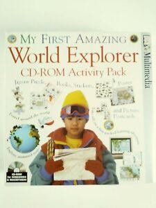 DORLING KINDERSLEY MY FIRST WORLD EXPLORER CD-ROM ACTIVITY PACK