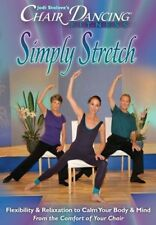 CHAIR DANCING FITNESS SIMPLY STRETCH SENIOR DVD NEW OLDER ADULTS WORKOUT CITIZEN