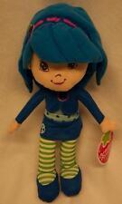 """CUTE Strawberry Shortcake BLUE BLUEBERRY MUFFIN 14"""" Plush STUFFED ANIMAL Toy NEW"""