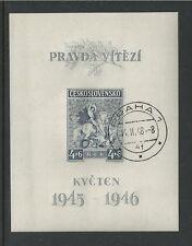 CZECHOSLOVAKIA # B158 Used  WWII LIBERATION (002)