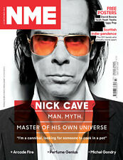 NME Magazine,NICK CAVE,David Bowie,Arcade Fire,Perfume Genius,Michel Gondry