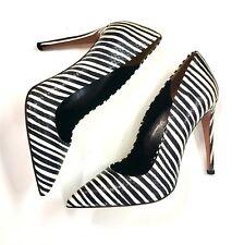 Phio Myo Fabulous Zebra Print Stiletto Court Shoes Size 40