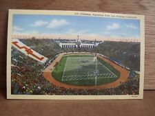 1930-40s America Postcard Coliseum Exposition Park Los Angeles California