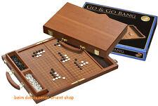Go Gobang Koffer mit Spielsteine Bang Holz Holzkassete 45X36cm Geselschaftspiel