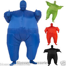 CL312 Mens Womens Inflatable Costume Second Skin Funny Halloween Fancy Dress Up