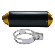 Gold 38mm EXHAUST MUFFLER FOR ATOMIK PITPRO THUMPSTAR DHZ PIT DIRT BIKE MOTOCROS