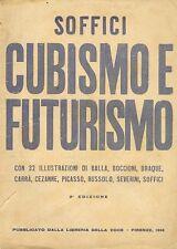 SOFFICI Ardengo, Cubismo e futurismo, La Voce, 1914