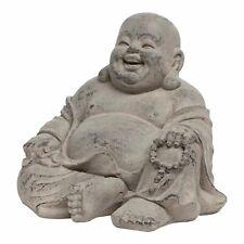 Fat Laughing Buddha Fibreclay Garden Statue Ornament