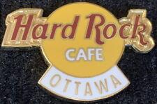 Hard Rock Cafe OTTAWA 2005 Classic HRC LOGO PIN 4LC, 1 Tac - See hrc #30534