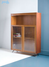 Vintage Nathan Mid Century Retro Teak Book Case Display Drinks Cabinet  Shelves