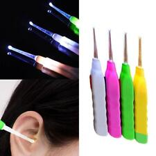 LED Light Earpick Set Clean Wax Remover Cleaner Picker Ear Pick Curette Tool Hot