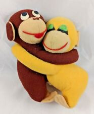 "Knickerbocker The Embraceables Monkey Love Ape Hugs Plush 6"" Tall Stuffed Animal"