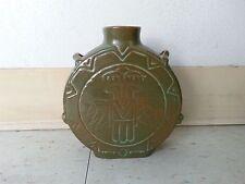 Vintage FRANKOMA AZTEC VASE MAYAN THUNDERBIRD  MID CENTURY DANISH MODERN
