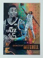 2017-18 Panini Essentials Donovan Mitchell Rookie RC #149, Utah Jazz