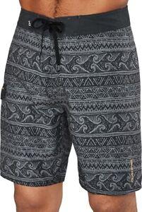 New 2019 Dakine Men's Makaha Boardshorts Size 32 Black Sketch Wave Board Shorts
