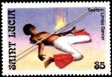 SAINT LUCIA - 1986 - Tourism : Limbo Dancing - MNH Stamp - Sc. #865