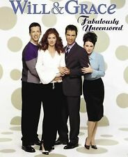 WILL AND GRACE FABULOUSLY UNCENSORED* Paper Back Book By JIM COLUCCI 192 Pages