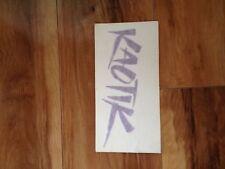 Kaotic,Dub,MHT,Niche Decal Sticker