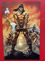 CONAN the Barbarian #1 - Virgin Variant by J. Scott Campbell