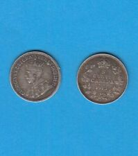 Canada Georges V  5 cents argent 1913 Silver coin