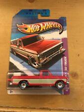 2013 Hot Wheels Sam Walton 1979 Ford F-150 Truck Real Riders Wal-Mart Rare Tan