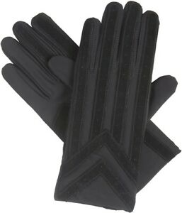 Isotoner Knit Spandex Gloves with Suede Palm Strip Style A24028