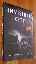 SIGNED - KEN SCHLES - INVISIBLE CITY - 2014 STEIDL EDITION - FINE/NEW COPY