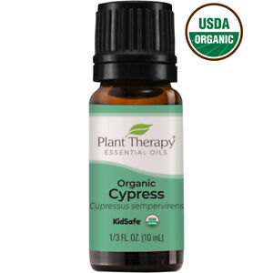Plant Therapy Organic Cypress Essential Oil 100% Pure, Undiluted, Natural