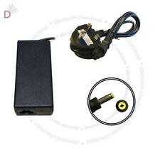 Adapter For HP PAVILION DV1000 DV5000 18.5V 65W + 3 PIN Power Cord UKDC