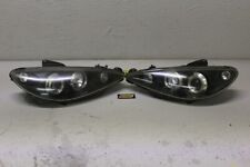 Scheinwerfer links rechts Peugeot 206 5-türer Tuning Set Angel Eyes Satz Sport