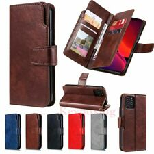 For iPhone 12 Pro Max 11 XR SE 8 7 6s Wallet Card Holder Flip Leather Case Cover