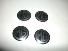 MG MIDGET SET/4 WHEEL CENTER CAP BADGE,HUB CAP BADGE 1970-80