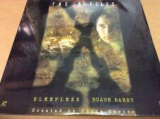 X-Files: Sleepless/Duane Barry Laserdisc SEALED BRAND NEW