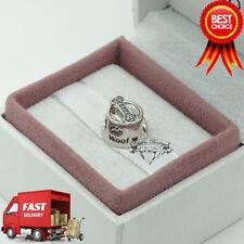 Pandora, Woof, Bone, Dog Bowl, Animal, Bracelet Charm 791708CZ