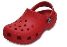 Scarpe Sandali rosso Crocs per bambine dai 2 ai 16 anni