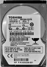 Toshiba 320GB Laptop / Desktop HDD SATA 2.5'' Hard Drive with Windows 10 64bit