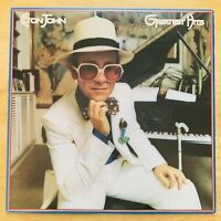 Elton John - Greatest Hits - Vinly Record Album LP (1974 MCA 2128)