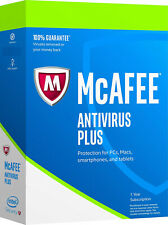 McAfee Antivirus PLUS 2020 - 1 PC 1 Year (eDelivery) Windows 7/8/10