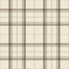Cambridge tartan Wallpaper-Marron / Beige fd40538