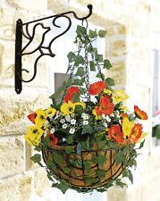Haken Wandhalterung Blumenampel Wandhaken für Blumenampel Laterne Schmiedeeisen