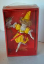 Christmas Ornament Porcelain Fairy Doll Collectors Club in Box #10